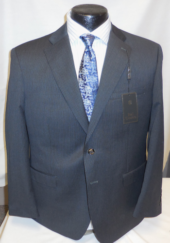 Slim Fit Gray Fine Line Suit