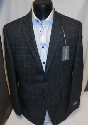Austin Reed Blue Plaid Suit